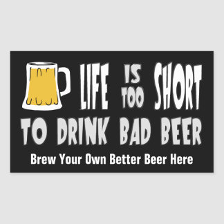 Homebrewing or Brew Your Own Beer funny sticker