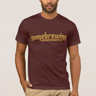 Homebrewing Tee