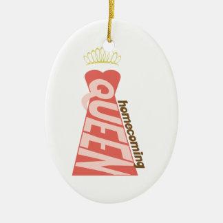 Homecoming Ceramic Ornament