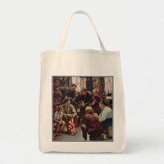 Homecoming Marine Tote Bags