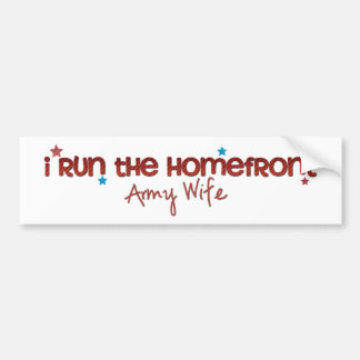 Homefront Wife Bumper Stickers