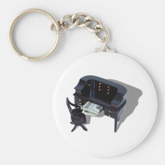 HomeInvestments042509shadow Basic Round Button Key Ring