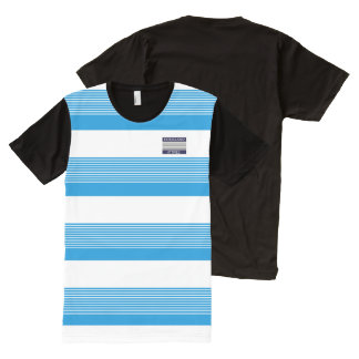 Homeland Attires Design L-Blue White Stripes Shirt