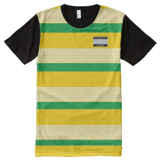 Homeland Attires Designer#2 Jamaica Colors Shirt