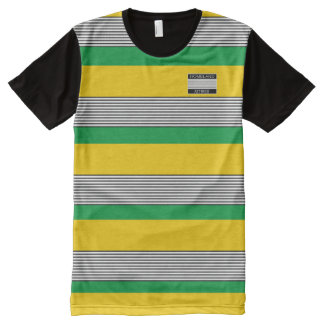 Homeland Attires Designer#3 Jamaica Colors Shirt