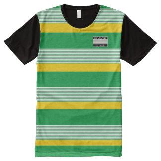 Homeland Attires Designer#4 Jamaica Colors Shirt