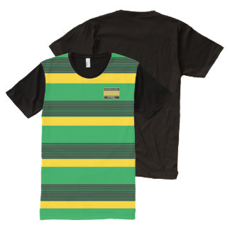 Homeland Attires Designer#5 Jamaica Colors Shirt