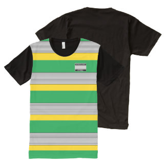 Homeland Attires Designer#6 Jamaica Colors Shirt