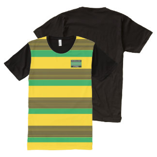 Homeland Attires Designer#7 Jamaica Colors Shirt