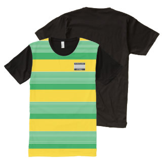 Homeland Attires Designer#8 Jamaica Colors Shirt