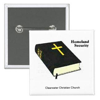 Homeland Security 15 Cm Square Badge