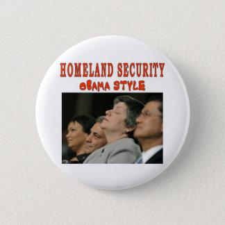 HOMELAND SECURITY 6 CM ROUND BADGE