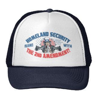 Homeland Security Begins with 2nd Amendment Cap