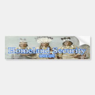 Homeland Security Bumper Sticker