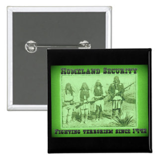 Homeland Security Fighting Terrorism Since 1492 15 Cm Square Badge