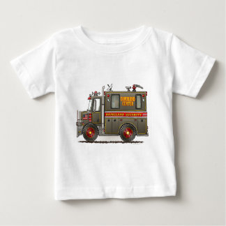 Homeland Security Truck Infant T-Shirt