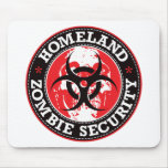 Homeland Zombie Security Skull - Red