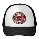Homeland Zombie Security Skull - Red Cap