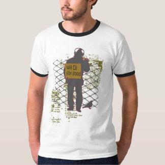 homeless dj T-Shirt