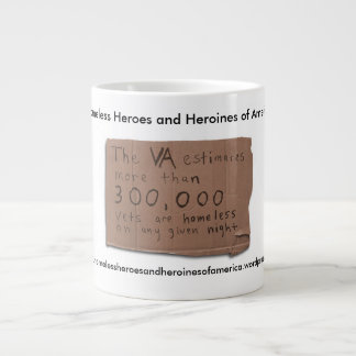 Homeless Heroes and Heroines of America Coffee Mug