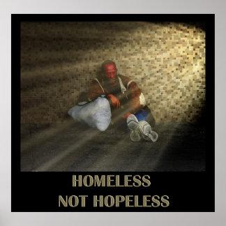 Homeless not hopeless poster