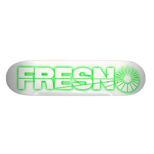 Homelessville Fresno Pro Board/Green Skateboard