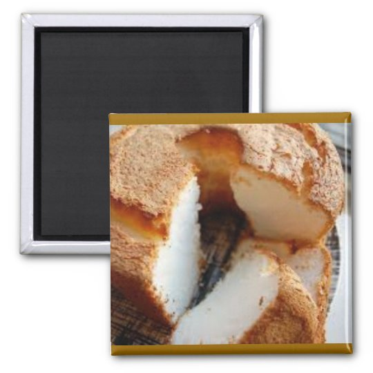 Homemade Angel Food Cake Magnet
