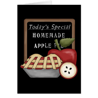 Homemade Apple Pie Card