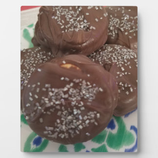 Homemade Chocolate Cookies Plaque