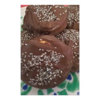 Homemade Chocolate Cookies Stationery