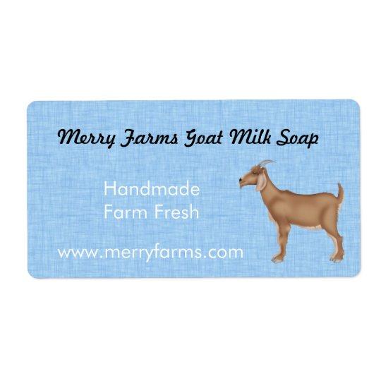 Homemade Goat Milk Soap Labels