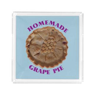 Homemade Grape Pie