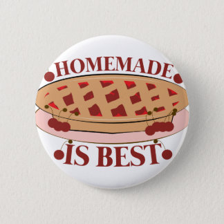 Homemade Is Best 6 Cm Round Badge