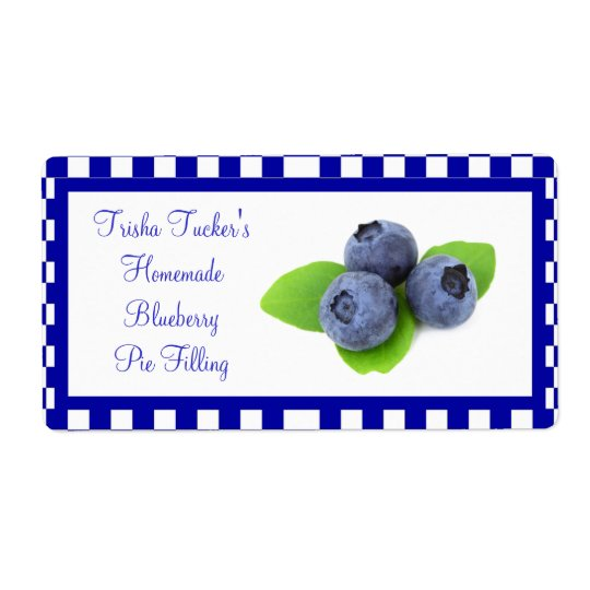 Homemade Jelly/Jam Label Shipping Label