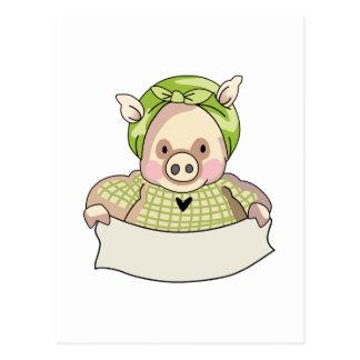 HOMEMAKER PIG POST CARDS