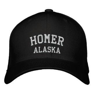 Homer, Alaska Embroidered Hat