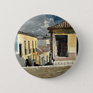 Homer: Santiago de Cuba Street Scene 6 Cm Round Badge