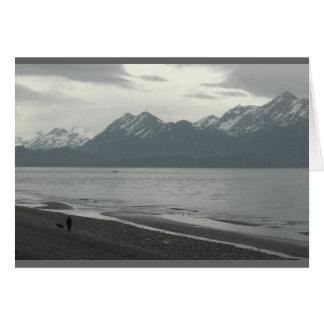 Homer Spit, Alaska Card