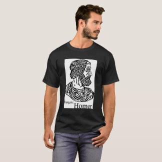 Homer's portrait on a white background T-Shirt