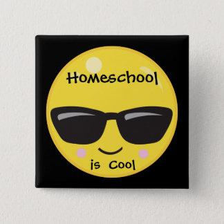 Homeschool is Cool 15 Cm Square Badge
