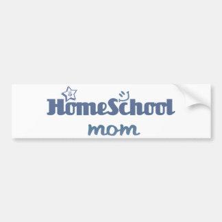 Homeschool Mom Bumper Sticker