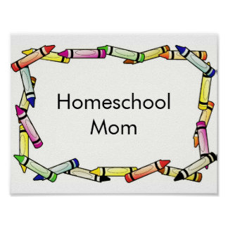 Homeschool Mom Poster