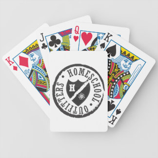 Homeschool Outfitters Logo Bicycle Poker Deck