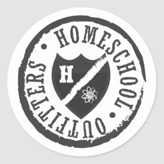 Homeschool Outfitters Logo Round Sticker