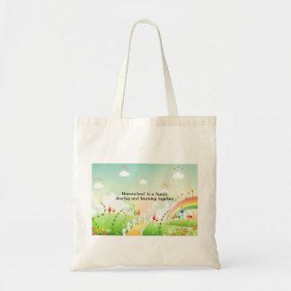 Homeschool tote bag