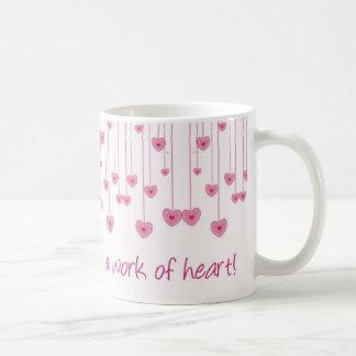 Homeschooling is a work of heart! coffee mug