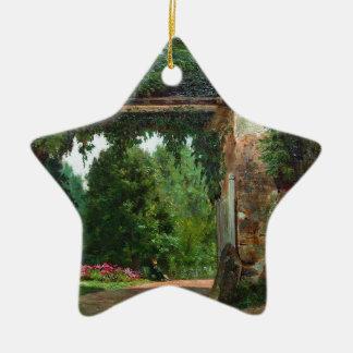 homestead (1) ceramic ornament