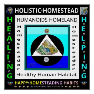 HOMESTEAD-1 Global-Earth Poster