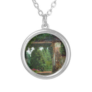 homestead (1) silver plated necklace