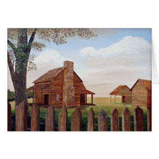 Homestead by Jim Ivey--Blank Notecard